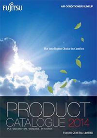 fujitsu iklimlendirme ürünleri katalogu ingilizce