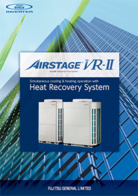 fujitsu vrf airstage vr2 heat recovery katalogu ingilizce